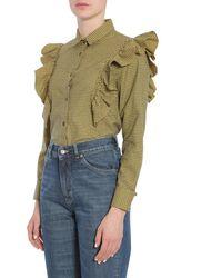 "Golden Goose Deluxe Brand ""dori"" Shirt - Green"