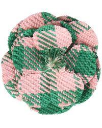 Philosophy Di Lorenzo Serafini Flower Brooch - Green