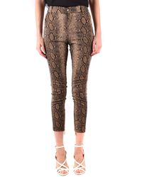 Twin Set Trousers Classics - Brown