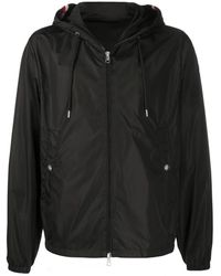 Moncler Grimpeurs Hooded Lightweight Jacket - Black