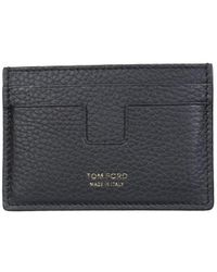 Tom Ford Card Holder With Logo - Multicolor
