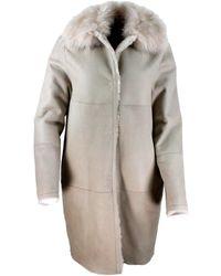 Manzoni 24 Coats Beige - Natural