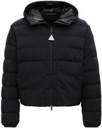 Moncler - Anwar Black Down Jacket With Logo - Lyst