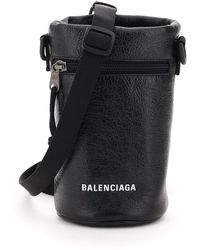 Balenciaga Explorer Bottle Hold Mini Bag - Black