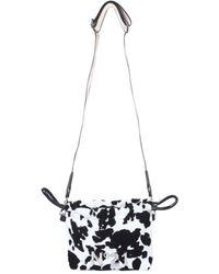 N°21 Mini Leather Bag - Black