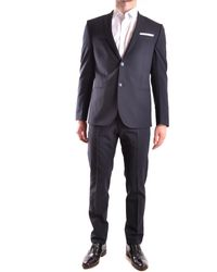 Daniele Alessandrini Suit In - Blue