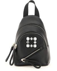 Roger Vivier Mini Walky Viv' Backpack - Black