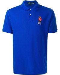 Polo Ralph Lauren Polo Bear Polo Shirt - Blue