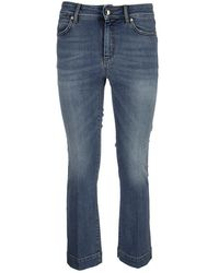 Sportmax Berma - Flared 5-pocket Jeans - Blue