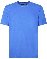 Lardini Cotton Blend T-shirt - Blue