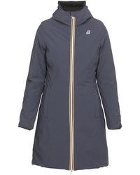 K-Way Coats - Blue