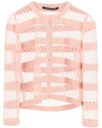 Antonino Valenti Liz Cardigan 42 Silk - Pink