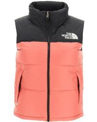 The North Face 1996 Retro Nuptse Vest - Orange
