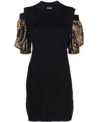 Versace Jeans Couture Dresses Black