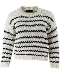 Fabiana Filippi Cotton Sweater - White