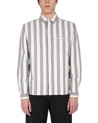 Sunnei - Striped Pattern Shirt - Lyst