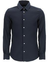 Vincenzo Di Ruggiero Classic Tailored Shirt - Blue