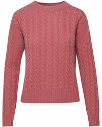 Max Mara Pink Breda Sweater