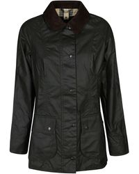 Barbour Black Cotton Down Jacket