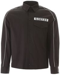 Goetze Vince Boxy Shirt - Black