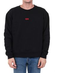 424 Logo Sweatshirt - Black