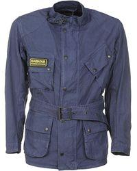 Barbour Coats - Blue