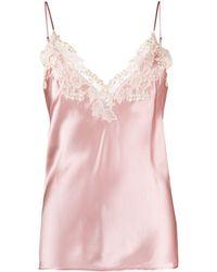 La Perla Maison Silk-blend Camisole - Pink
