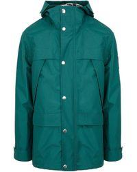 AMI Nylon Hort Parka Jacket - Green
