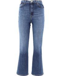 "J Brand ""julia"" Denim Pants - Blue"