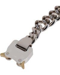 1017 ALYX 9SM Silver-tone Brass Bracelet - Metallic