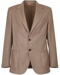 Dell'Oglio Single-breasted Jacket - Multicolor