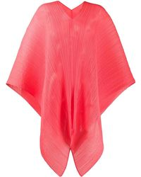 Pleats Please Issey Miyake Scarfs Red - Multicolour