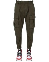 DSquared² Cargo Trousers - Green