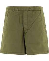 """Barbour """"cove"""" Twill Shorts - Green"""