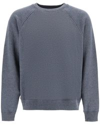 Acne Studios Crewneck Sweatshirt With Logo - Gray