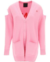 Givenchy Cardigan With Cut-out - Pink