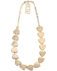 Gcds Necklace With Heart Crystals - White