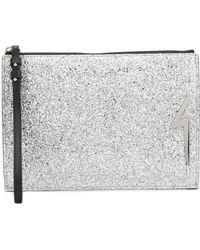 Giuseppe Zanotti G-glitter New Thunder Clutch Bag - Multicolour