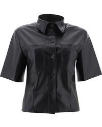 Nanushka Other Materials Shirt - Black