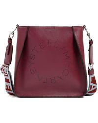 Stella McCartney Mini Cross Body Eco Soft Bag - Purple