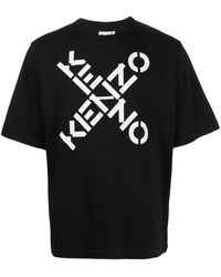 KENZO - T-shirts And Polos Black - Lyst