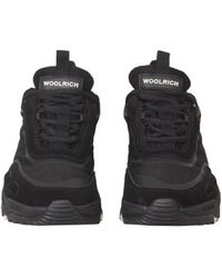 Woolrich Trekking Runner Trainers - Black