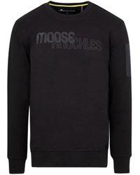 Moose Knuckles Transit Pullover Jumper - Black