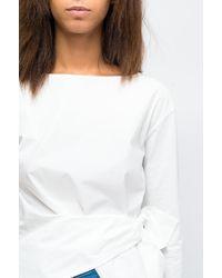 Brian Dales Cotton Shirt White