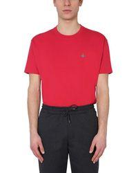 Vivienne Westwood Crew Neck T-shirt - Red