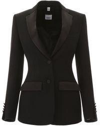 Burberry Tailoring Blazer - Black