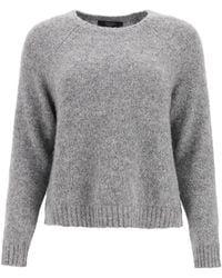 Weekend by Maxmara Crewneck Sweater - Gray