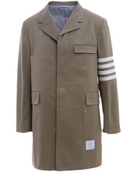 Thom Browne - Coats Brown - Lyst