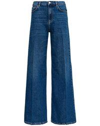 Pinko Flare Blue Denim Jeans