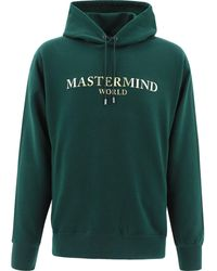 """MASTERMIND WORLD """"mastermind"""" Hoodie - Green"""